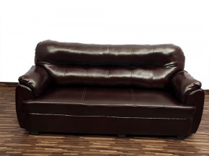 used Vista Dark 3 Seater Sofa