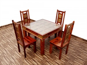 used Maharaja 4 Seater Dining Set