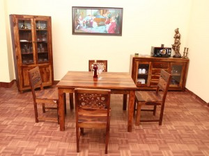 used Global 4 Seater Dining Set