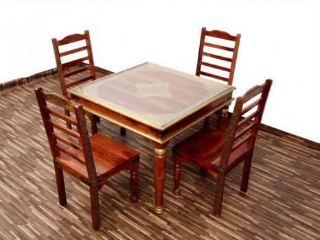 used Royal Pluto 4 Seater Dining Set