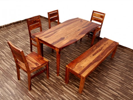 used Wave 6 Seater Dining Set