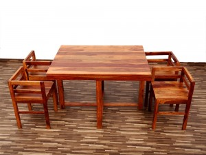 used Star 4 Seater Dining Set