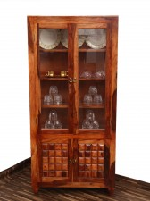 used Cube Glass Cabinet