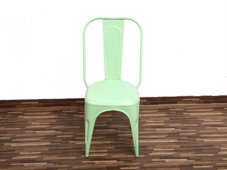 used Rubber Coated Iron Chair No 3