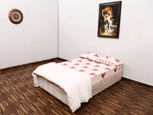 used American Bed with Mattress