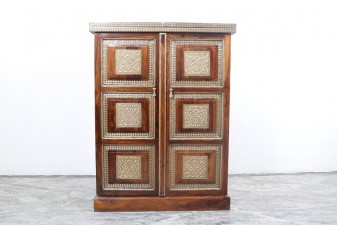 used Wooden Bar Cabinet 1