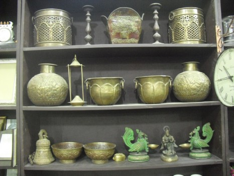used Decorative Brass Items