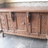 second handAntique Side Board With Marble Top