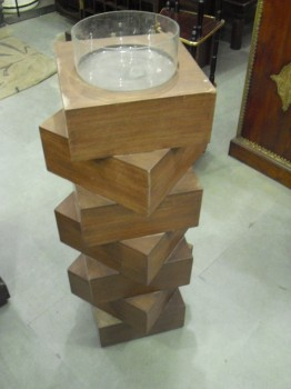 used Wooden Candle Stand