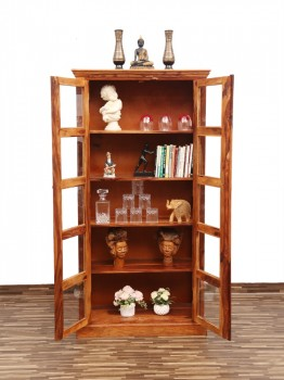 used Texas Glass Cabinet