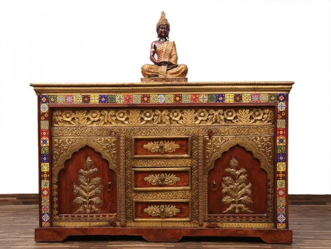 used Tibetan Side Board