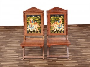 used Rajwada Folding Chairs